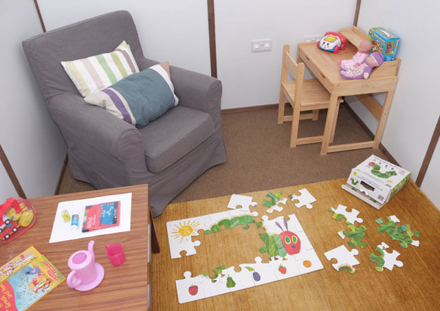 psychotherapy play room